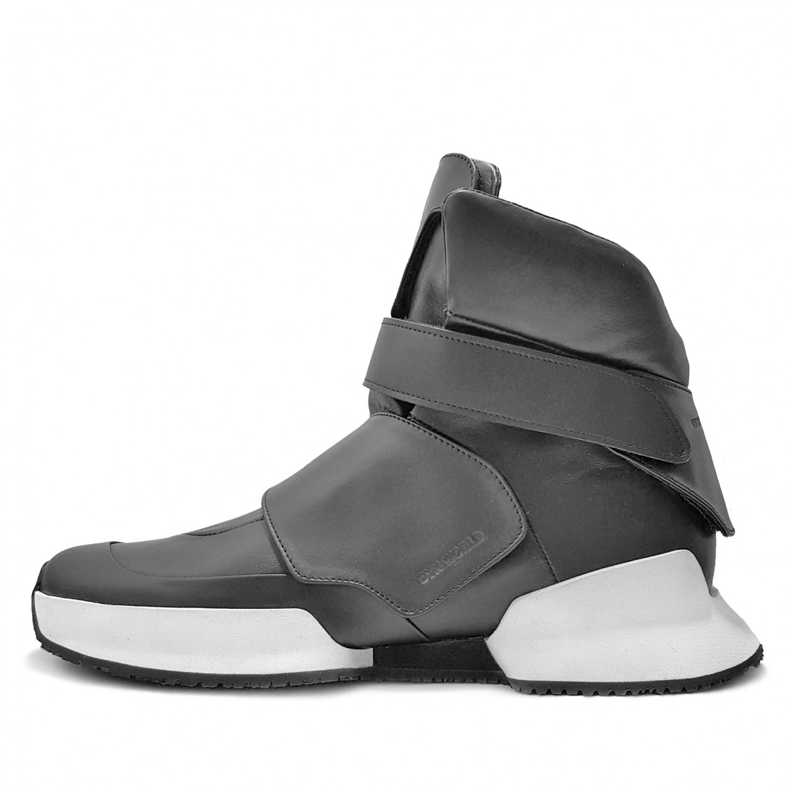 RDS PROTOTYPE. First replacement details high-top sneakers.